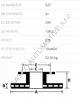 Brzdový kotouč pro autojeřáby Liebherr, Demag, Kessler, Terex, Spiering 6402509202