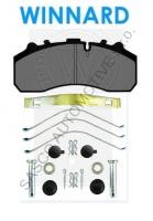 Brzdové destičky WINNARD 29108, 29202 (IB701)