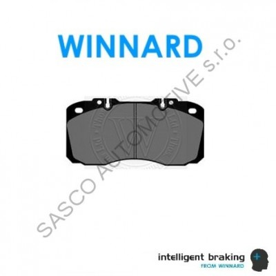 WINNARD Brzdové destičky 29122 IVECO EuroCargo, DAILY