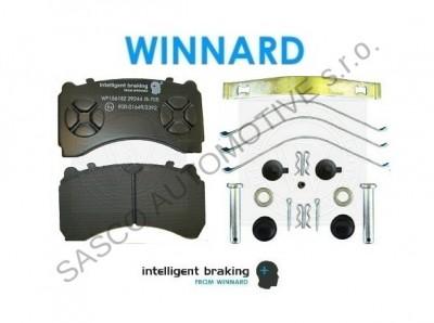 WINNARD Brzdové destičky MB ACTROS IV 29244 - zadní