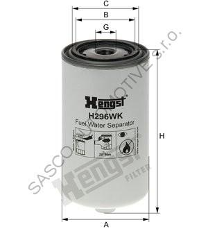 HENGST Filtr paliva H296WK