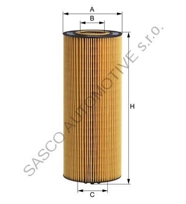 Olejový filtr E500H D129