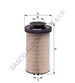 Palivový filtr Actros E500KP02D36 E500KP02D36, 5410920505, PU999/1x, 5410920805, FF5