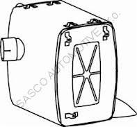 Tlumič výfuku MB Actros DINEX 50450