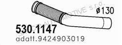 Trubka výfuku vstupní MB Actros 54236